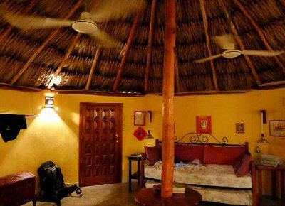 Casita Carolina Palapa Room